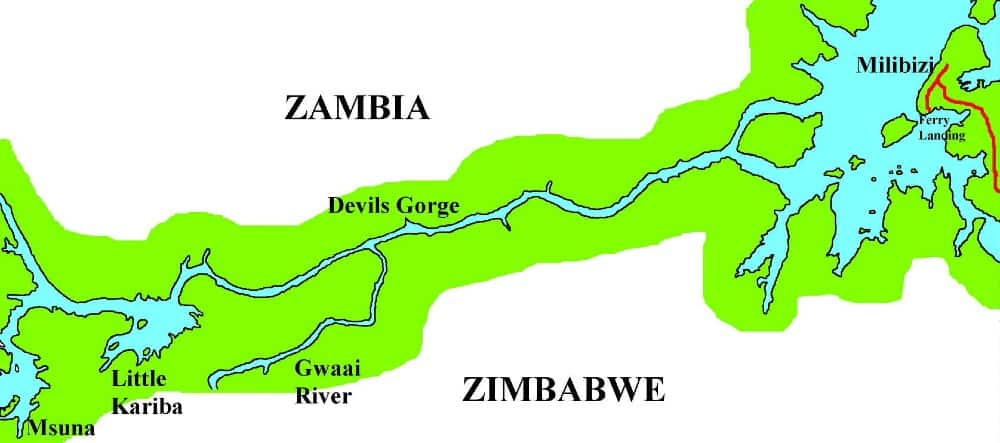 Zambezi Map