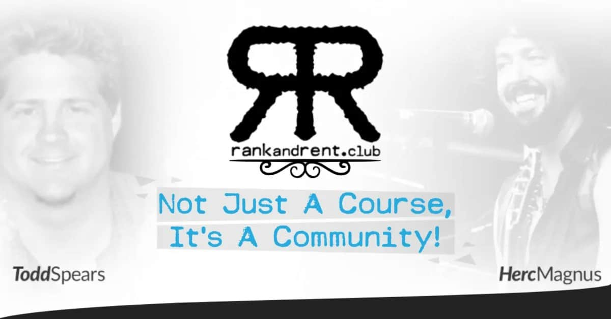 Rank and Rent Course